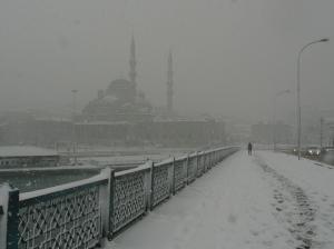 istanbul neige
