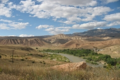 Euphrate, entre Erzincan et Kemah