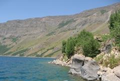 lac bleu Nemrut Dag