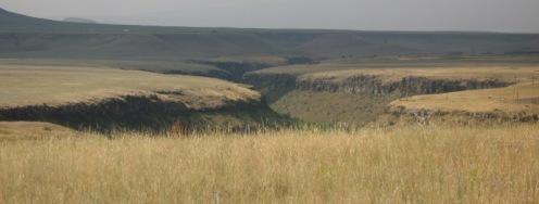 steppe anatolienne, de l'autre côté des barbelés d'Anipenza
