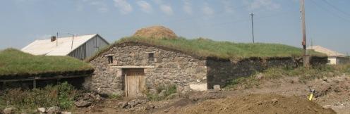 village géorgien