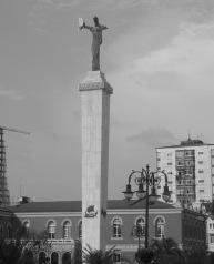 Batumi : la statue de Médée