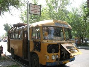 "Yerevan : ""gare routière"" de Hrachia Ghaplanyan"