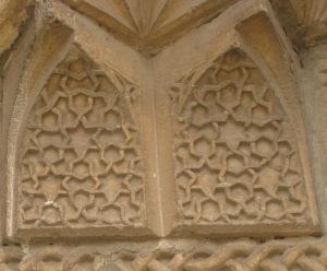 Tercan : mausolée de Mama Hatun, détail #1