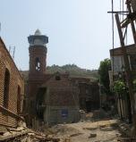 Tiflis : mosquée, quartier d'Abanotubani