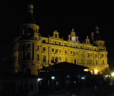 Haydarpasa by night, Istanbul