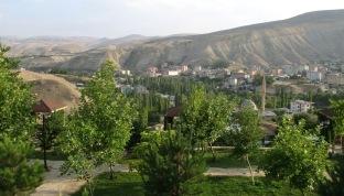 Darende, depuis le tombeau d'Hasan Gazi