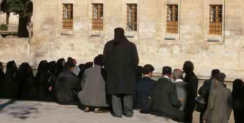 pèlerins à Urfa